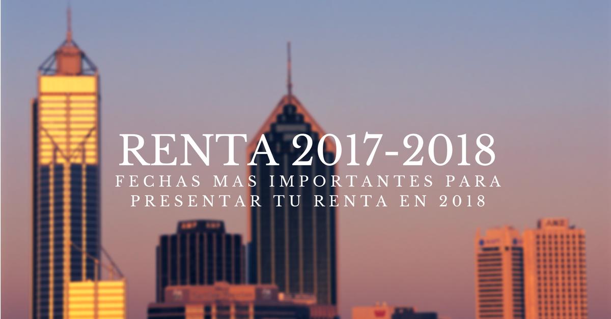 Declaraci n de la renta 2017 fechas mas importantes for Oficinas hacienda valencia